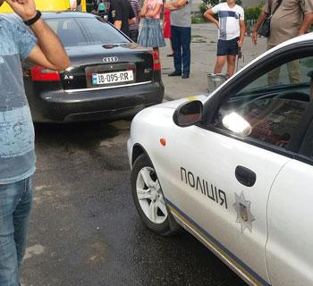 У Запорізькій області автівка на євро-номерах збила дитину