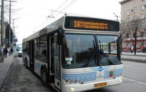 У Запоріжжі люди скаржаться на відсутність кондиціонерів у нових автобусах (Відео)