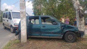 У Запорізькій області ДТП біля  санаторія, серед постраждалих дитина (фото)