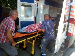 Содействие спасателей врачам скорой помощи в Запорожской области помогло доставить женщину в больницу