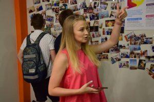 В Запорожье школьникам рассказали о работе IT-компании (ФОТО)
