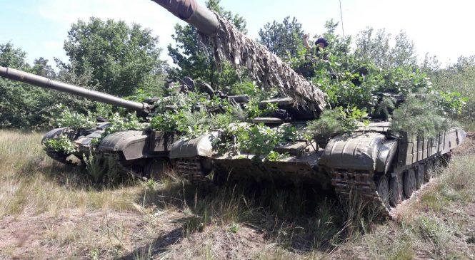 Запорізькі танкісти готуються до міжнародних військових змагань (фото)