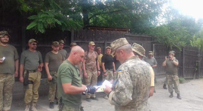 Запорожский 37-й батальон снова на передовой