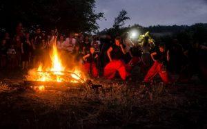 «Серебряная купальска роса»: в Запорожской области прошли традиционные народные празднования