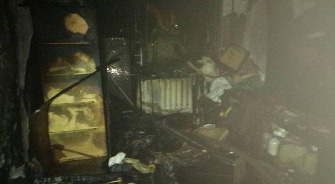 У Запоріжжі на пожежі загинув чоловік