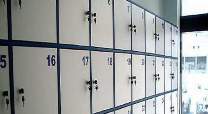 В Запорожье вор-рецидивист положил украденное в камеру хранения одного из магазинов (Фото)