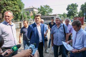 Мэр Запорожья прокомментировал реконструкцию пр. Маяковского и распорядился активизировать работу