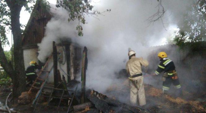 Обережно з електроприборами — у Запорізькій області через коротке замикання загорівся будинок (фото)