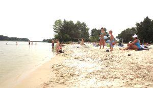 Пляж у Запорізькій області потрапив у чорний список МОЗ