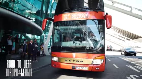 Матч Лиги Европы в Запорожье: в город прибыли футболисты из Португалии (Фото, видео)