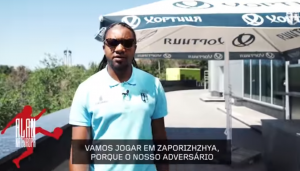 Накануне матча Лиги Эвропы португальский ФК снял видеоролик про Запорожье