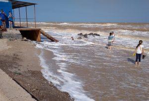 За сутки на запорожском курорте спасли трех человек