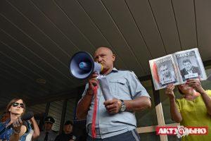 Протесты по скверу Яланского дошли до полиции
