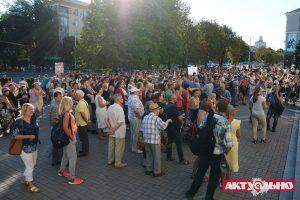 За хулиганство активистов в сквере Яланского открыто уголовное производство, — Полиция