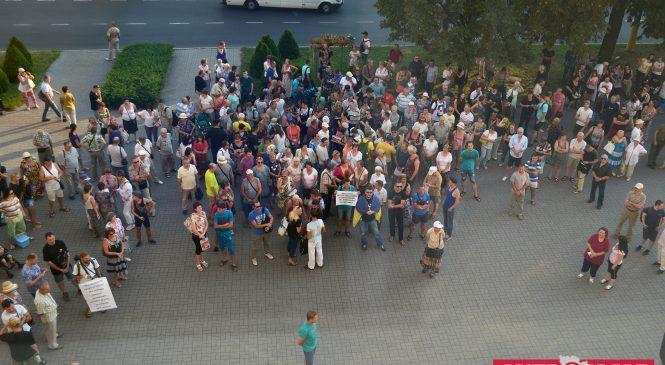 Эко-самооборона Запорожья и возможная отмена аренды парка Яланского — как вчера прошёл митинг в защиту сквера