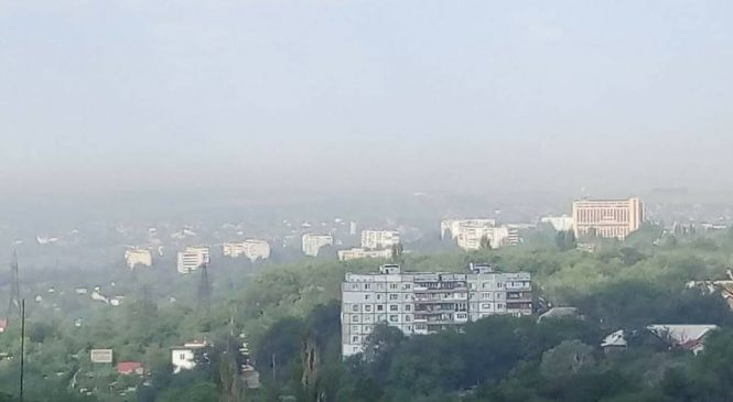 «Заводомерія вирішила потруїти людей після вирубки парку?»: Запоріжжя накрила небезпечна хмара (Фото)
