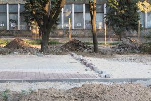 Как в Запорожье проходит реконструкция пешеходной зоны на проспекте Маяковского, – ФОТОРЕПОРТАЖ