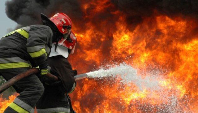 В гараже жителя Запорожья вспыхнул газовый баллон: из-за происшествия пострадал хозяин (Фото)