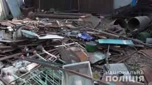 В Запорожской области обнаружили очередной незаконный пункт приема металлолома (ФОТО)