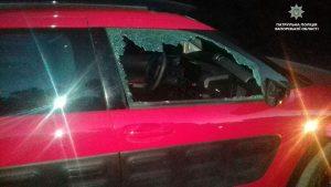 Запорожские патрульные задержали ночного автовора (Фото)
