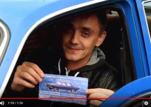 Житель Запорожья выиграл автомобиль (Фото, видео)