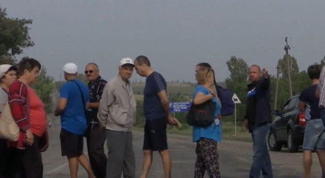 Чому люди у Запорізькій області все частіше перекривають траси? (відео)