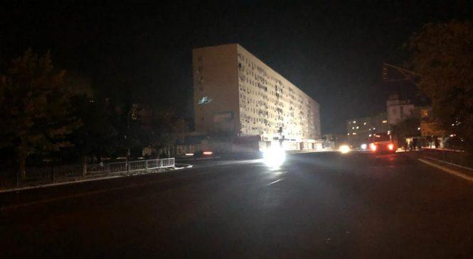 У Запорізькій області третю добу половина міста залишається без світла (фото)