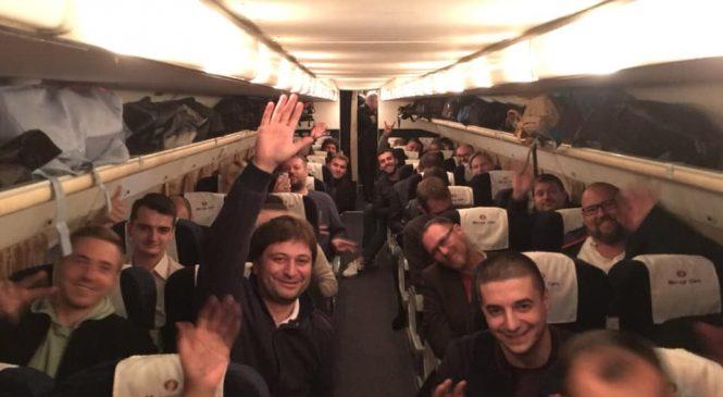 В Запорожье из Киева вылетел «IT-самолёт»