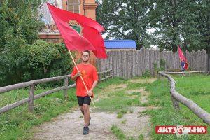 В Запорожье юные «артиллеристы» поднимали «ядра»