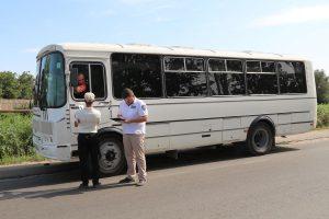 В Запорожской области несколько транспортных средств нарушили требования законодательства о пассажирских перевозках