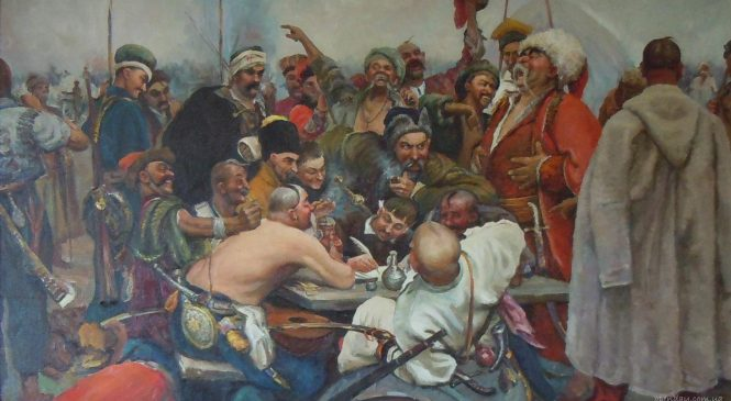 Діалог запорізьких козаків та турецького султану англійською від англійців (надзвичайно епічне відео)