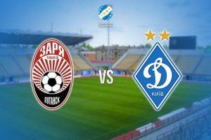 На запорожском стадионе «Славутич Арена» «Заря» сразится с «Динамо»