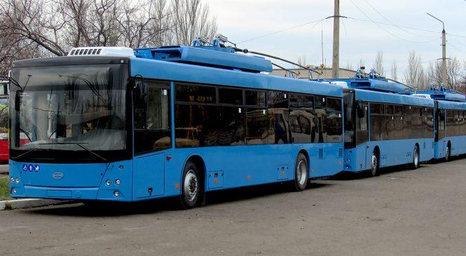 Троллейбусы в Запорожье вскоре будут заменены «безрогими» гибридами