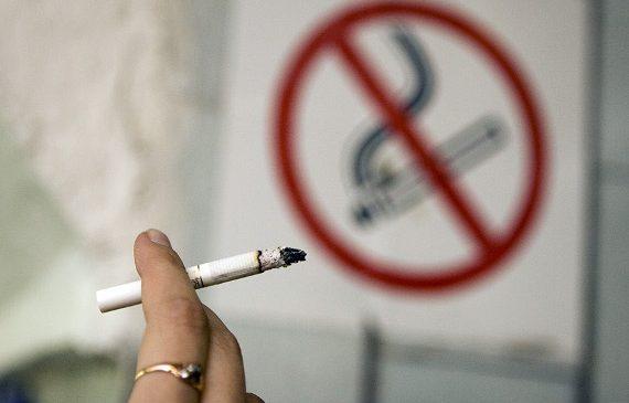 Малолетняя запорожанка курила в запрещенном месте