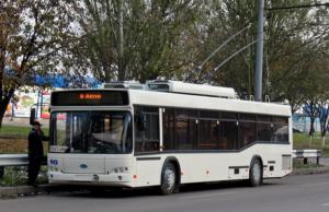В Запорожье на несколько дней перестанут работать 2 троллейбусных маршрута