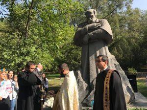 В Ереване торжественно открыли первый в Армении памятник Тарасу Шевченко (ФОТО)