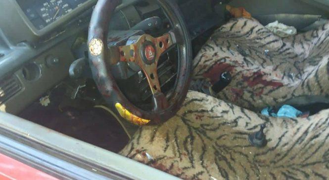 У Запоріжжі автівка влетіла у стовп: водія госпіталізували (фото 18+)