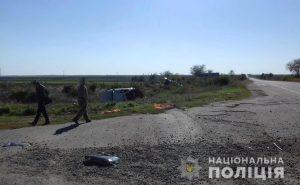 У Запорізькій області ДТП: автівки злетіли з дороги, постраждали 5 людей (фото)