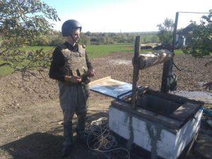У Запорізькій області в колодязі знайшли мінометну міну