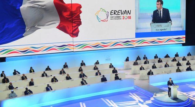 Верховенство прав человека, мир на Кавказе, переосмысление роли французского языка: в Ереване проходит XVII саммит франкоязычных стран