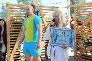 В Запорожье на Покровской ярмарке установили ещё один рекорд, в этот раз спортивный (ФОТО)
