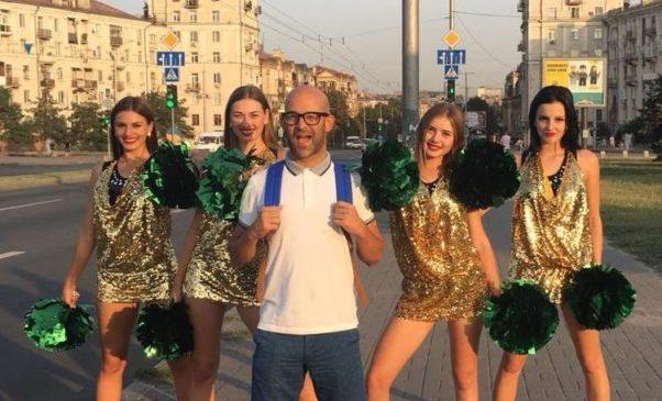 В Запорожье популярный турецкий исполнитель снял клип : появилось видео