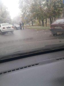 У Запоріжжі два легковики потрапили у ДТП (фото)