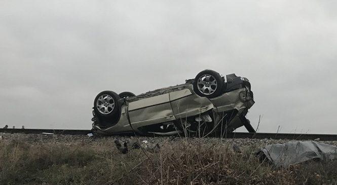 ДТП на железнодорожном переезде под Запорожьем: скончался еще один пассажир (Фото)