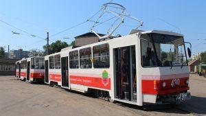В Запорожье на 4 дня прекращается движение трамвайного маршрута №14