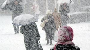 Запорожцев предупреждают об ухудшении погоды