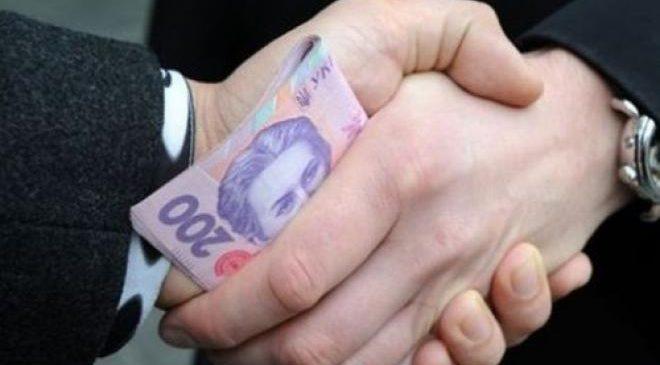 Пологовского начальника районного отделения полиции задержали на взятке