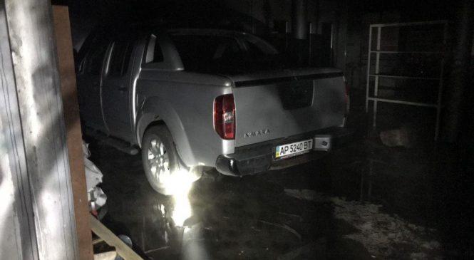 В Запорожье ночью горела станция технического обслуживания (Фото)