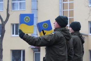 В Запорожье 92 гвардейца присягнули на верность стране