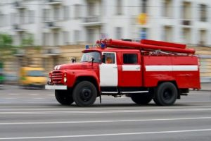 В Запорожской области горело авто (Фото)